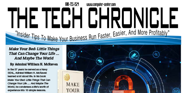 The Tech Chronicle – April 2019 Newsletter