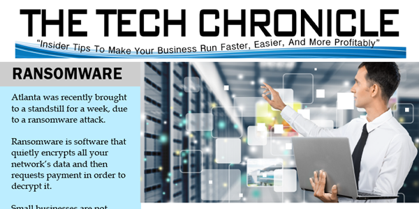 The Tech Chronicle – April 2018 Newsletter