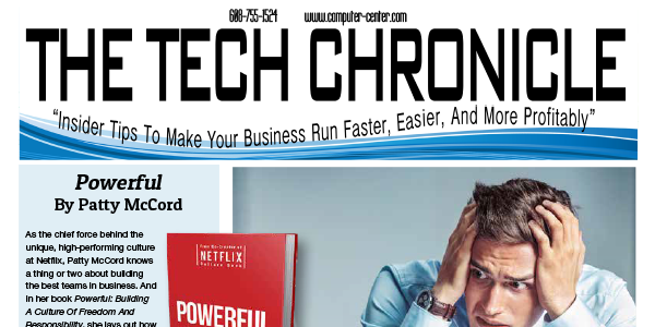 The Tech Chronicle – March 2019 Newsletter
