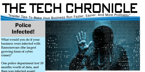 The Tech Chronicle – May 2018 Newsletter