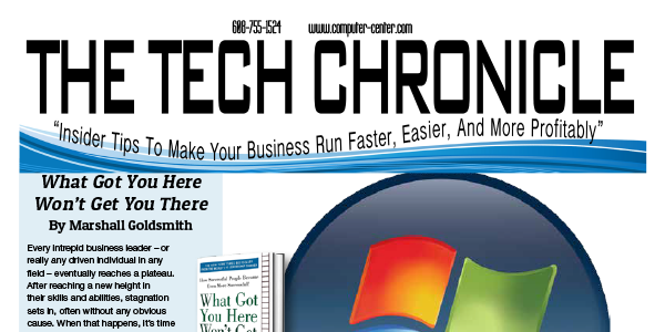 The Tech Chronicle – May 2019 Newsletter
