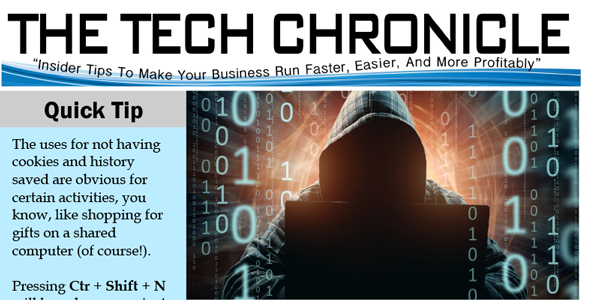 The Tech Chronicle – November 2018 Newsletter