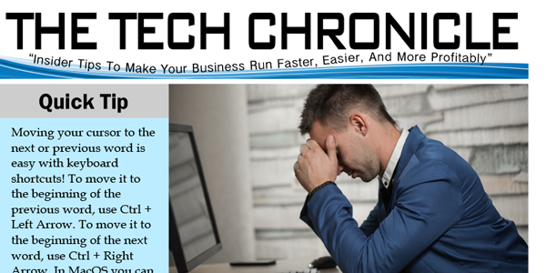 The Tech Chronicle – October 2018 Newsletter
