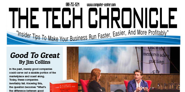 The Tech Chronicle – January 2019 Newsletter
