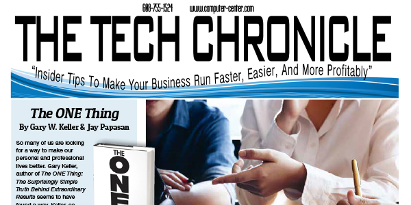 The Tech Chronicle – January 2020 Newsletter