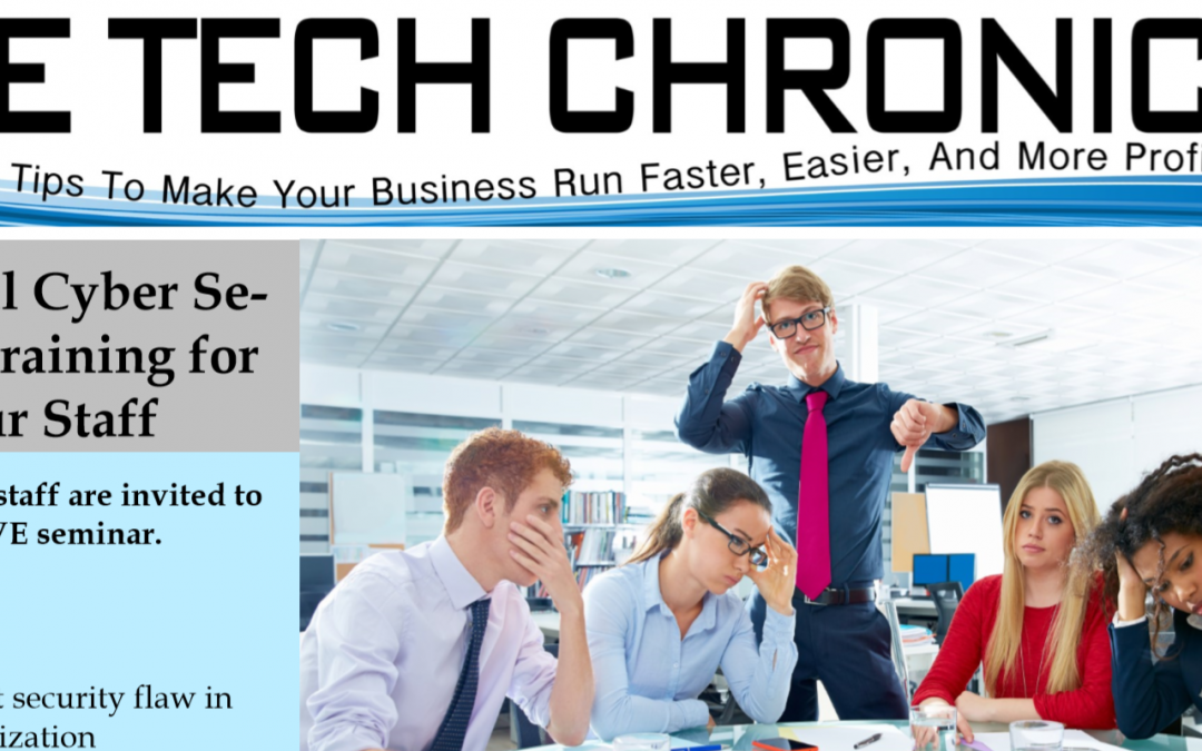The Tech Chronicle – March 2018