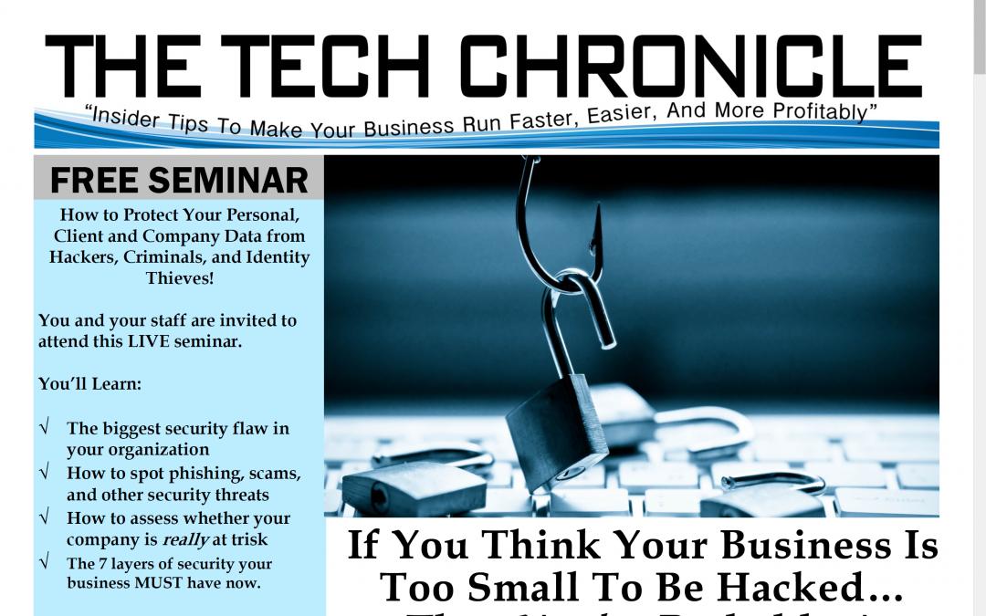 The Tech Chronicle – February 2018