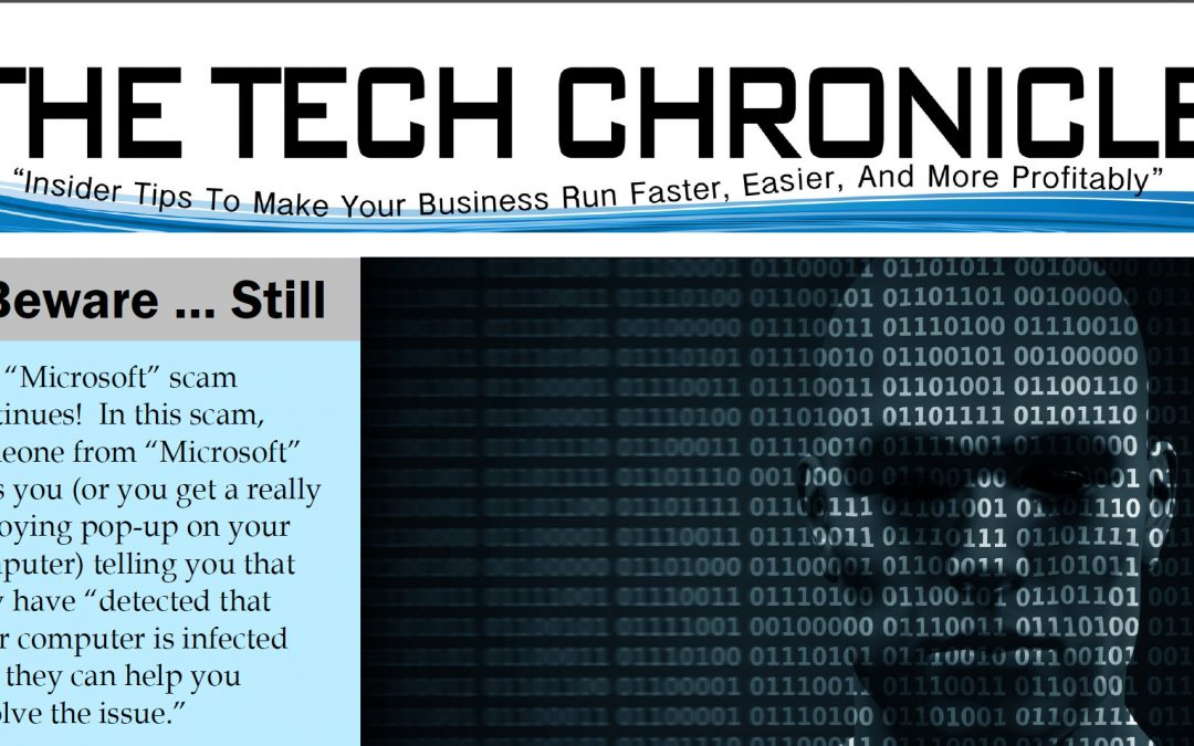 The Tech Chronicle – December 2017