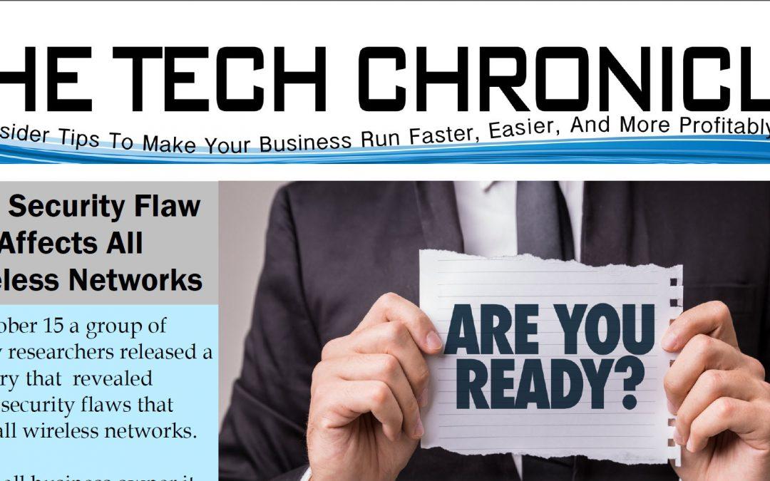 The Tech Chronicle – November 2017