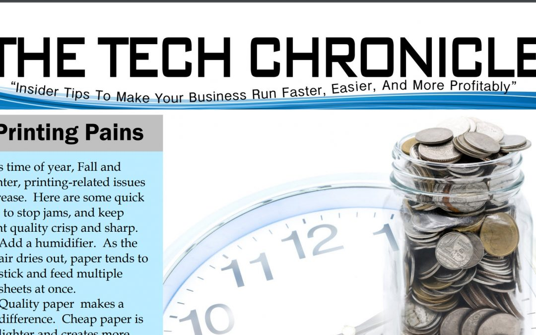 The Tech Chronicle – October 2017
