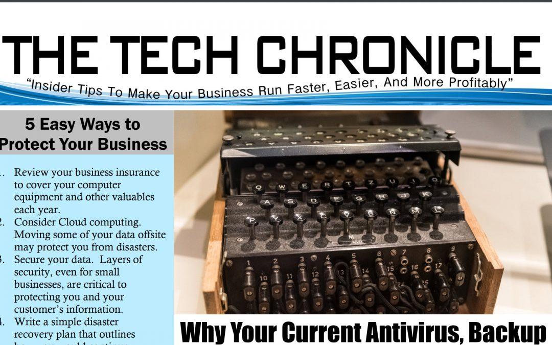 The Tech Chronicle – September 2017