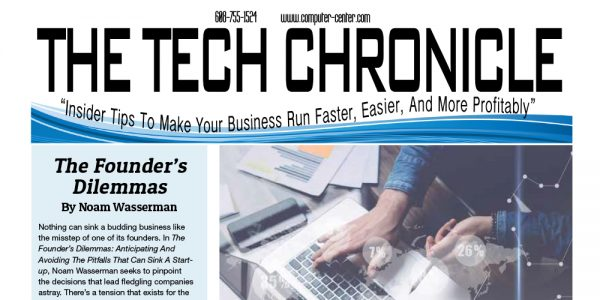 The Tech Chronicle – July 2019 Newsletter